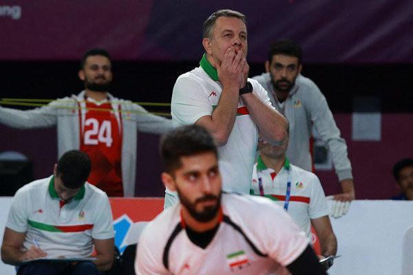 کولاکوویچ:خوشحالی اصلی بعد از فینال است، صندلی ایران رانشان دادیم