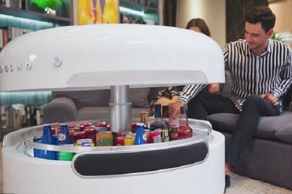 میز شارژر با قابلیت درک دستورات صوتی و پخش اخبار