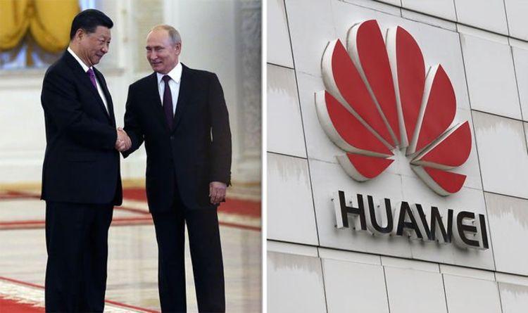 فرش قرمز روسیه برای هوآوی
